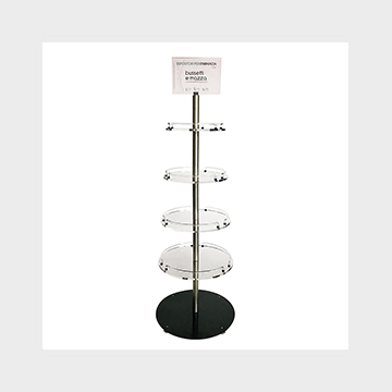 Plexiglass display stand Omicron