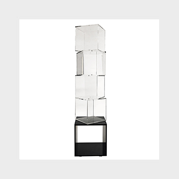 Plexiglass display stand Scubismo